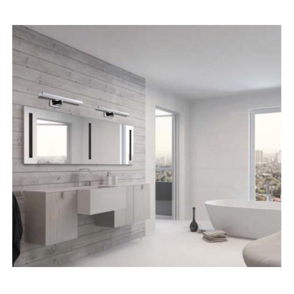 Doplnkové osvetlenie do kúpeľne smoderným dizajnom.