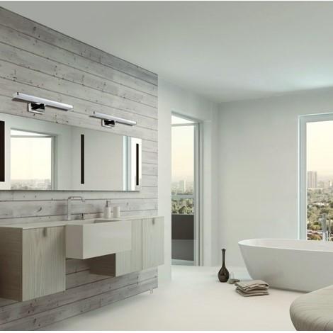 Nástenné osvetlenie ASTEN LED pre moderné kúpeľne.