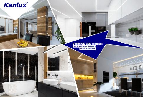 Zmodernizujte si váš interiér novými LED pásikmi od Kanluxu.