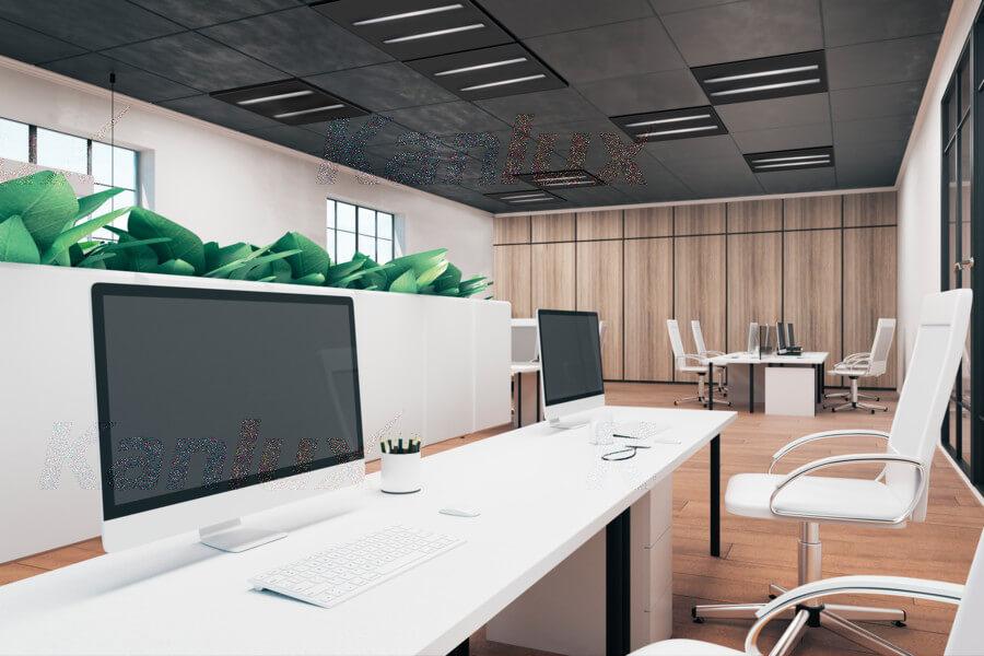 Predstavujeme Vám efektívne osvetlenie smoderným dizajnom pre kancelárie.