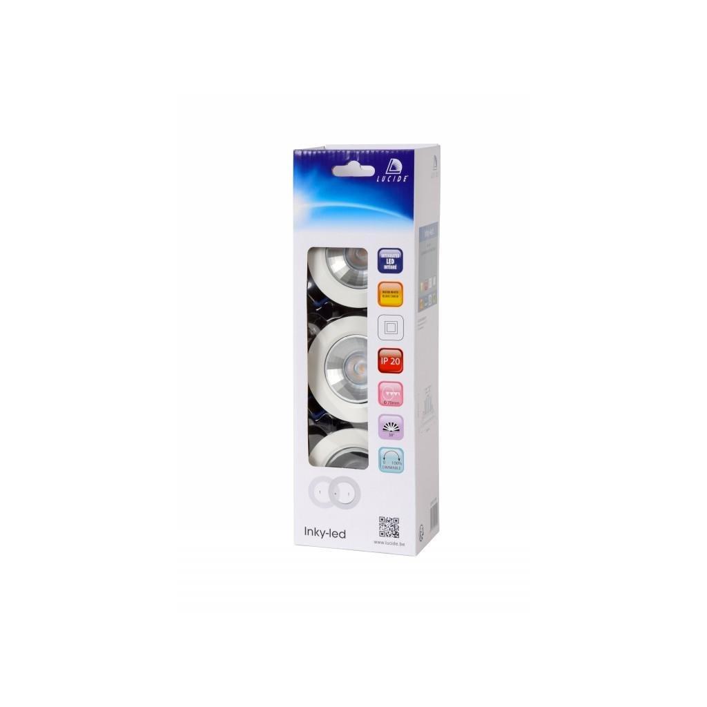 LUCIDE // INKY-LED bodové svítidlo set eulux.sk