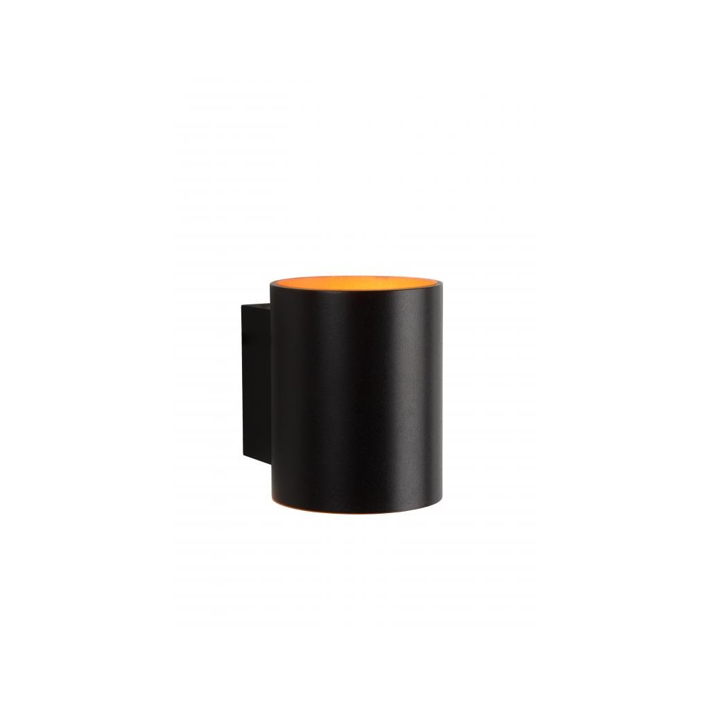 Lucide // XERA Wall Light Round xG D H Wcm Gold/Black eulux.sk