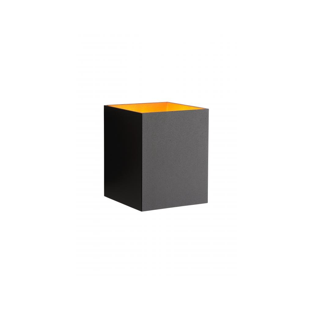 Lucide // XERA Wall Light Square xG H W L.cm Black eulux.sk