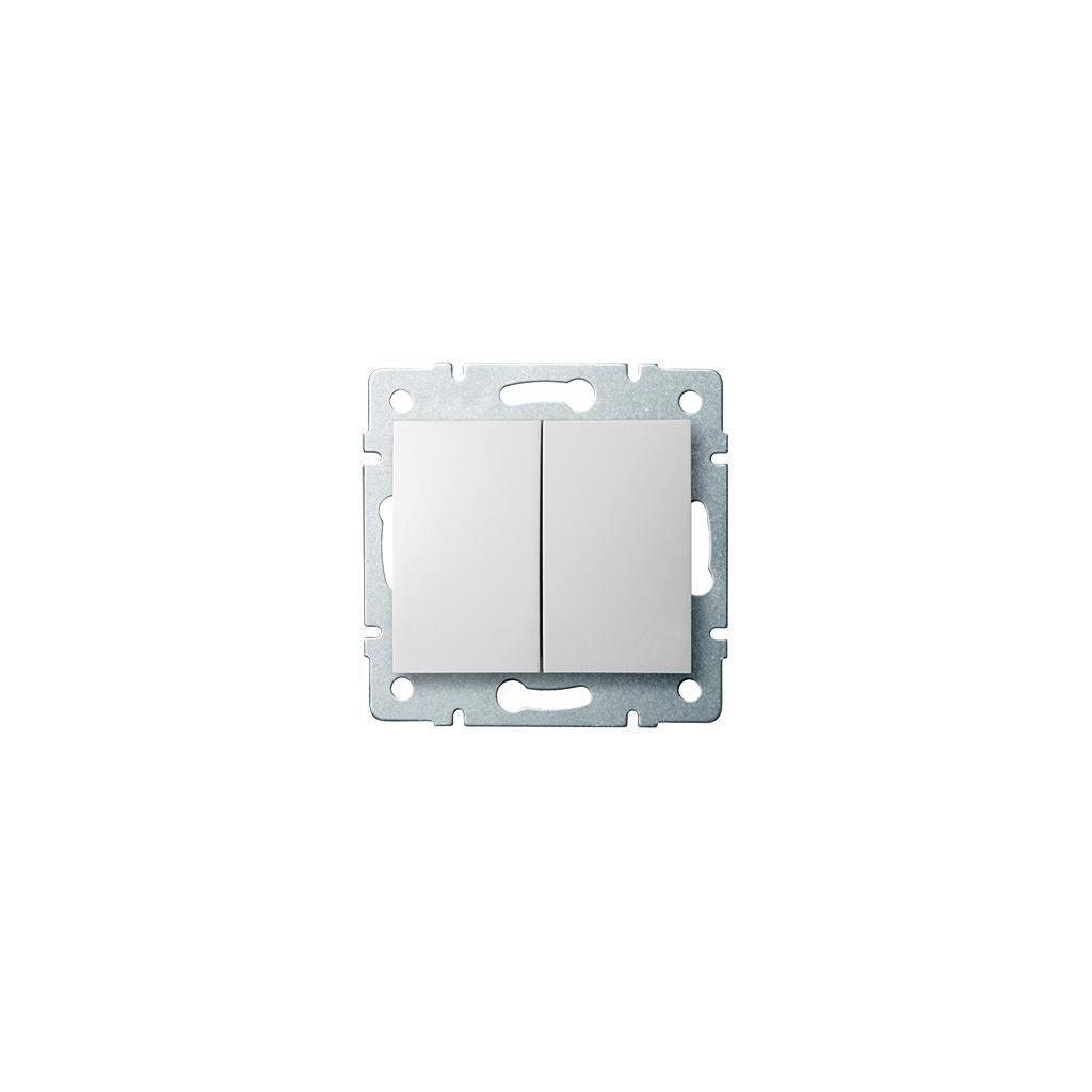 Kanlux LOGI Združený lustrový vypínač AX - V~ biela eulux.sk