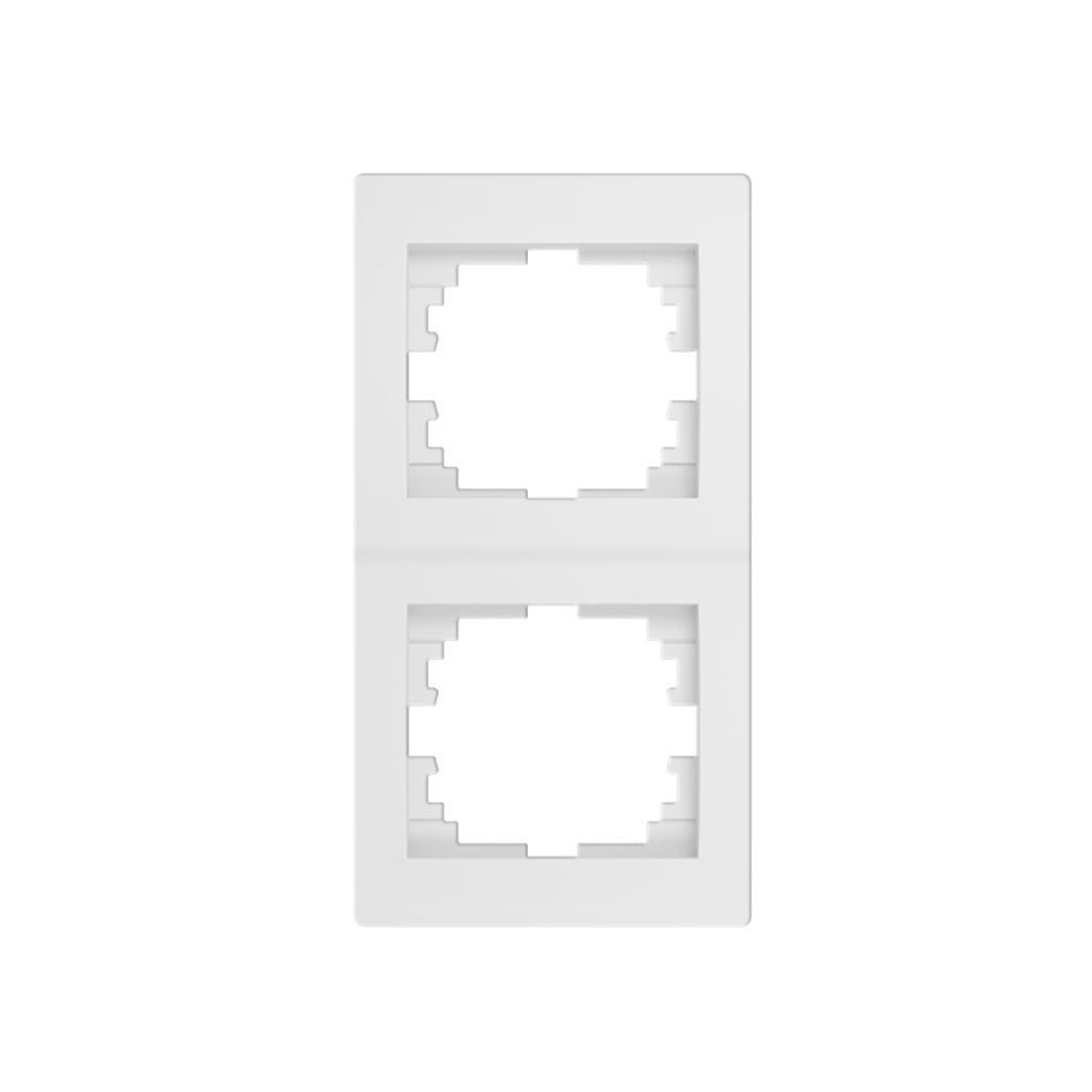 Kanlux LOGI Dvojnásobný vertikálny rámečekbiely eulux.sk