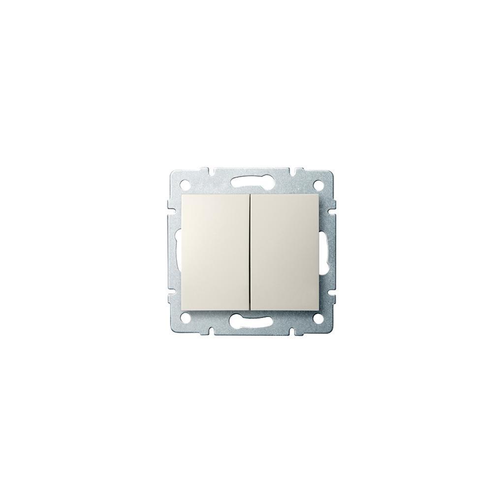Kanlux LOGI Združený lustrový vypínač AX - V~ krémový eulux.sk