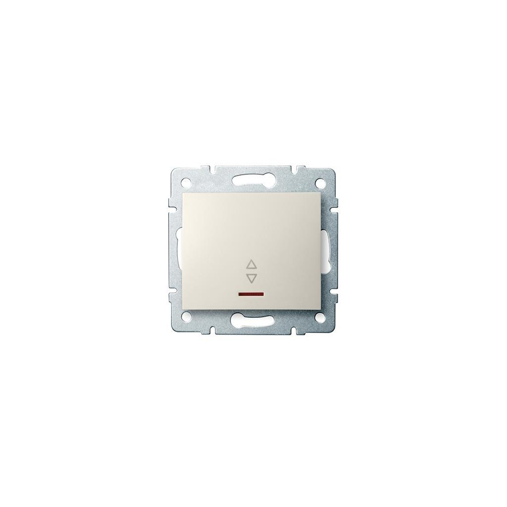 Kanlux LOGI Schodišťový vypínač s LED AX - V~krémový eulux.sk