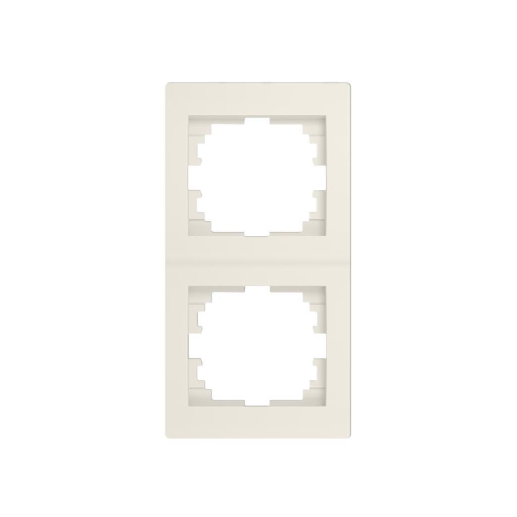 Kanlux LOGI Dvojnásobný vertikálny rámečekkrémový eulux.sk