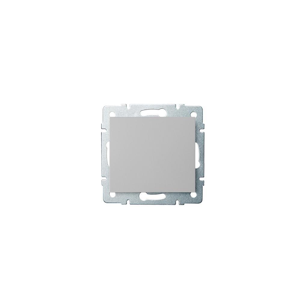 Kanlux LOGI Jednopólový vypínač AX - V~ strieborný eulux.sk