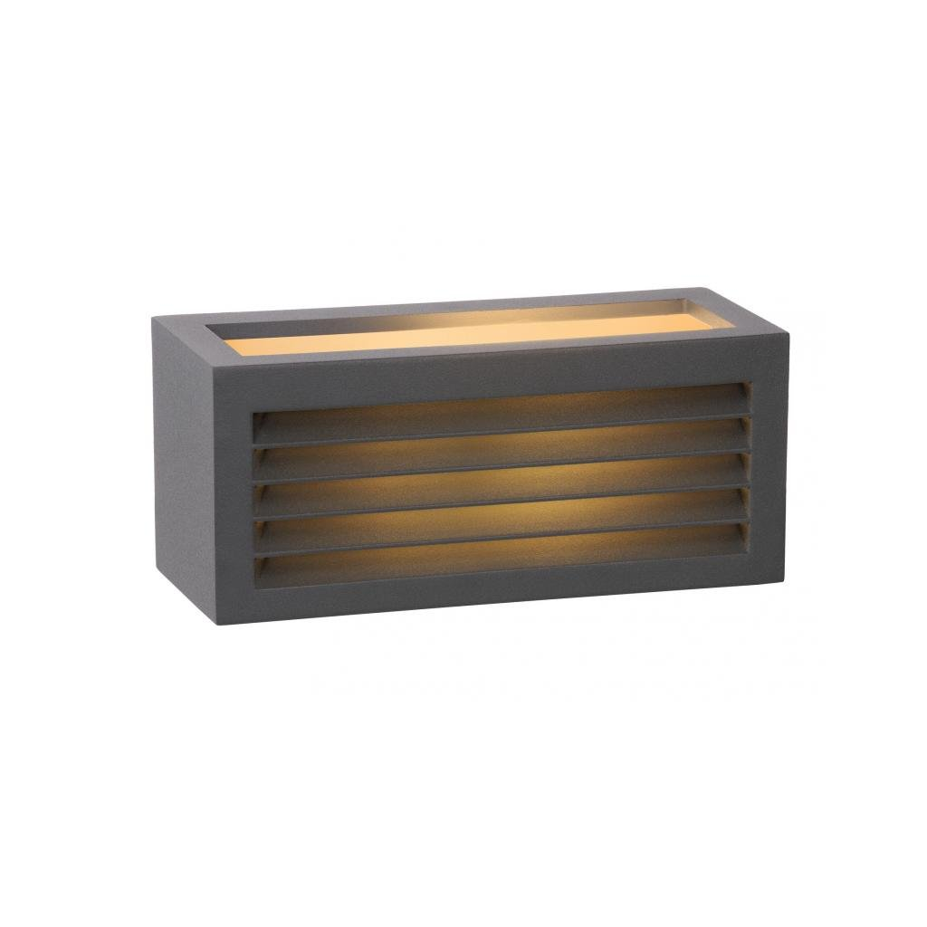 Lucide // DIMO Wall Light IP E .// Black eulux.sk