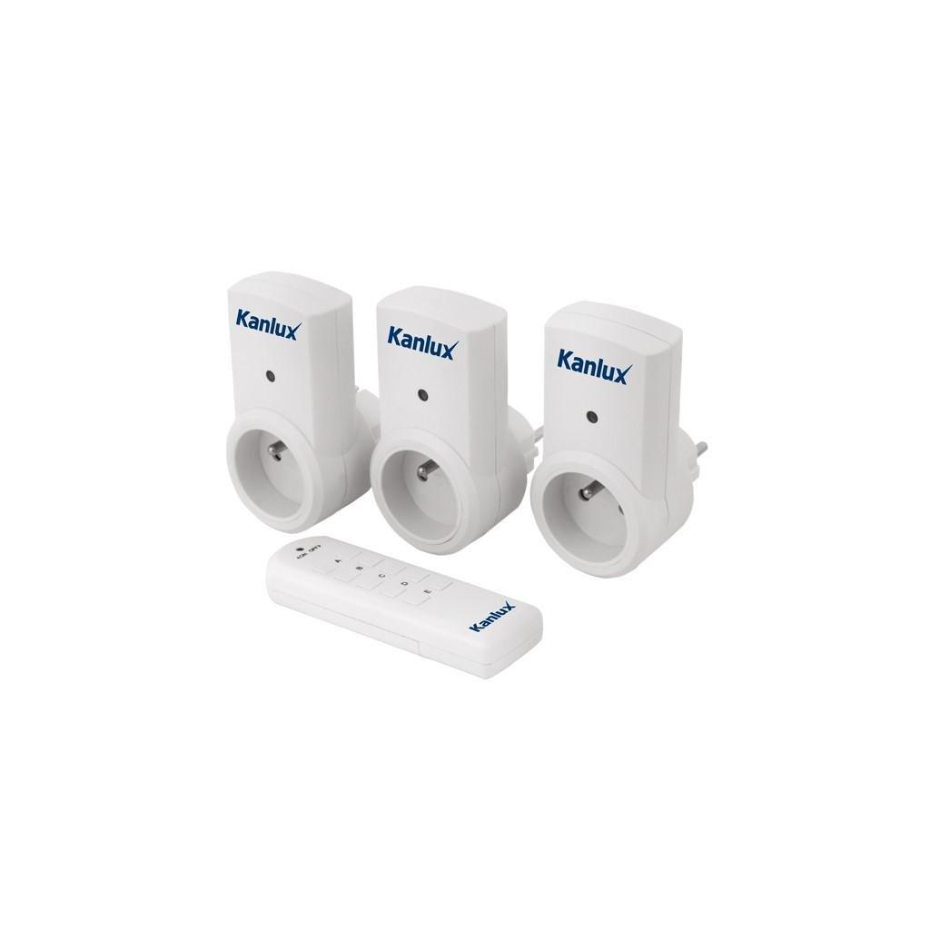 Kanlux APO TM- zásuvky na diaľkové ovládanie eulux.sk
