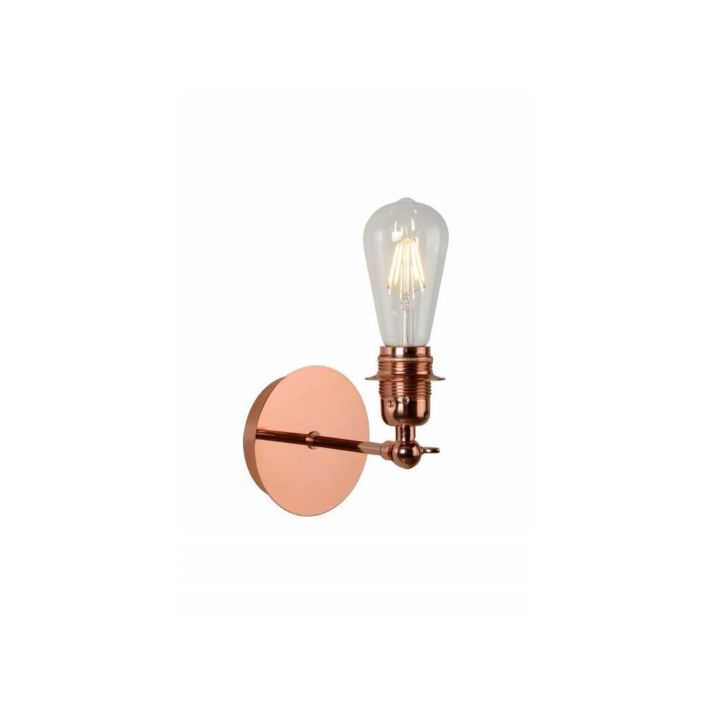 LUCIDE // RETRO red copper nástenné svietidlo eulux.sk
