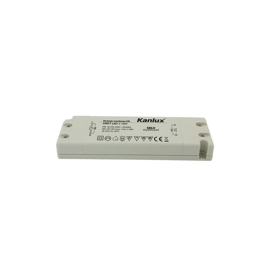 Kanlux DRIFT LED -W - Elektronický napěťový transformátor V eulux.sk