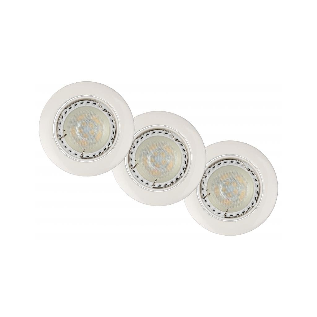 Lucide // Spot Built-in Round LED xGU/W di  eulux.sk