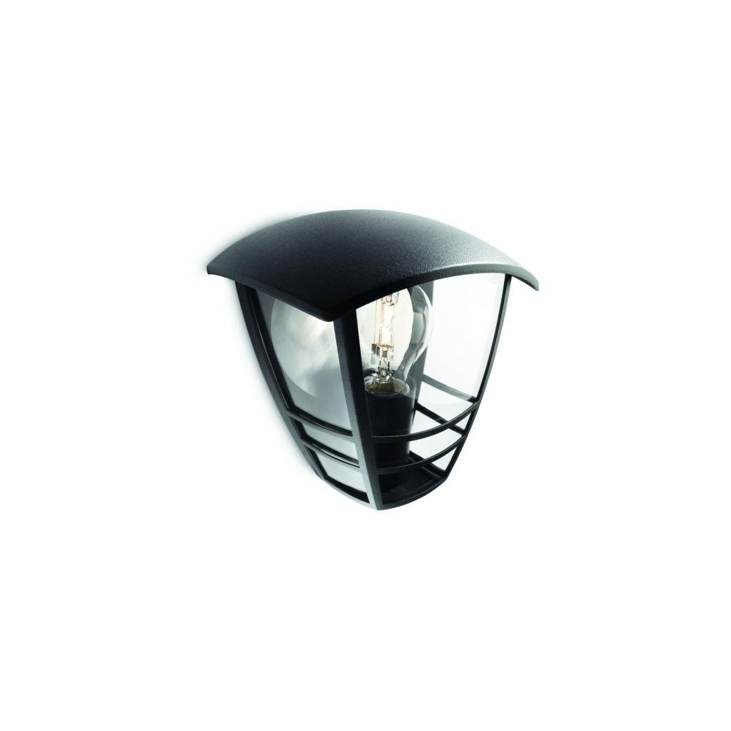 Massive-Philips // Creek wall lantern black xW V nástenné svietidlo eulux.sk