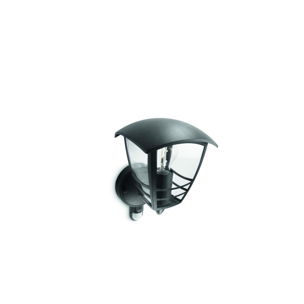 Massive-Philips // Creek wall lantern black xW V nástenné svietidlo so senzorom eulux.sk