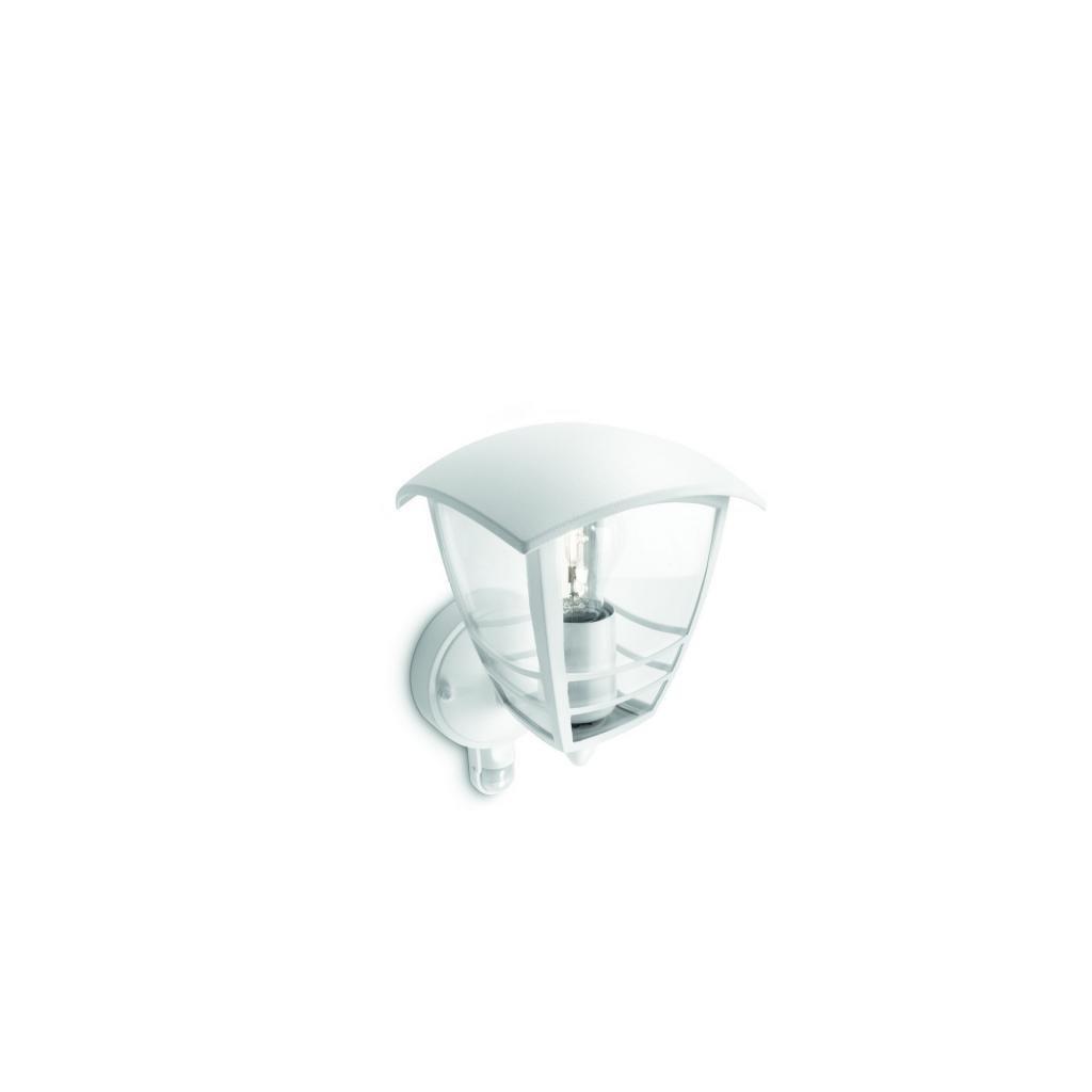 Massive-Philips // Creek wall lantern white xW V nástenné svietidlo so senzorom eulux.sk