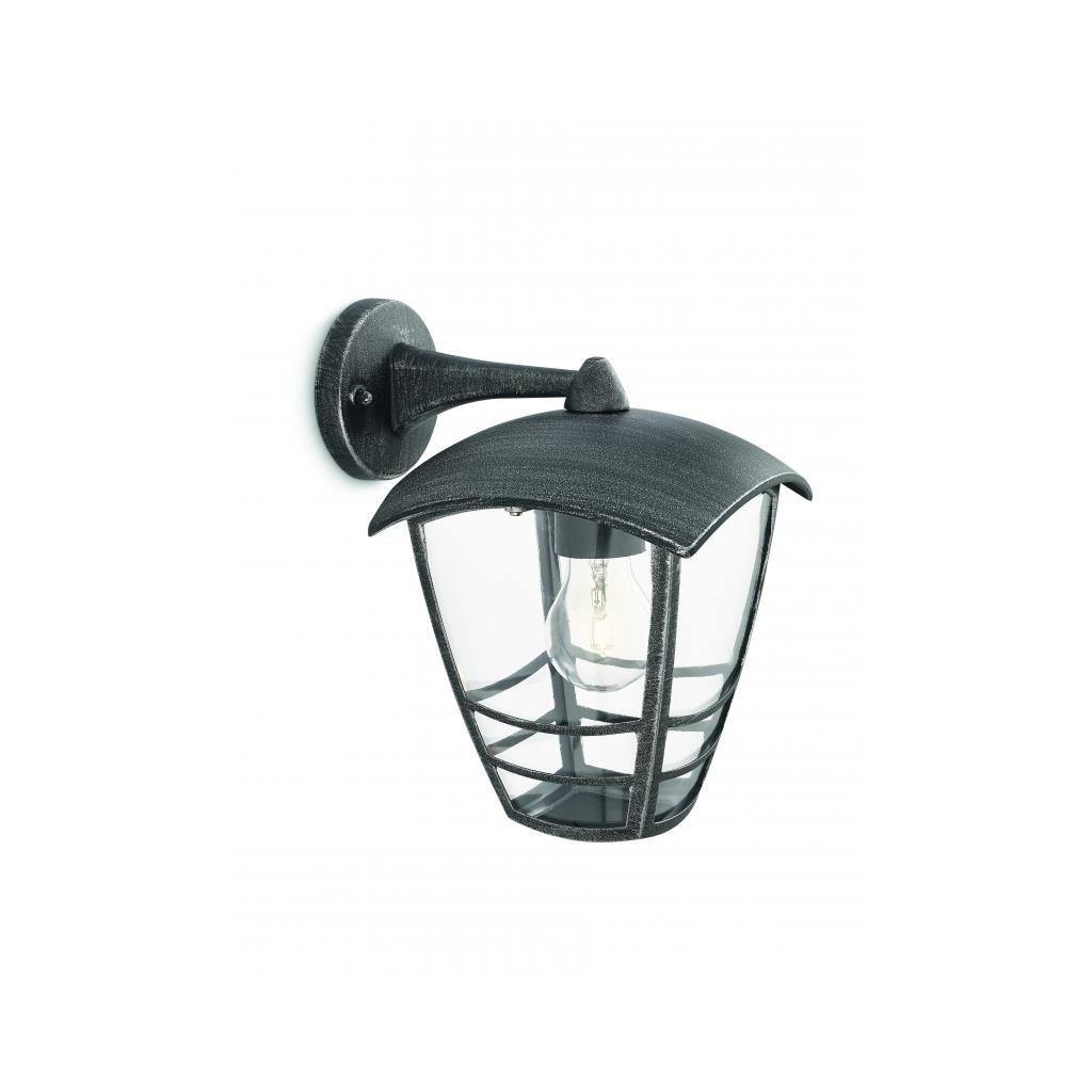 Massive-Philips // Stream wall lantern grey xW V nástenné svietidlo eulux.sk