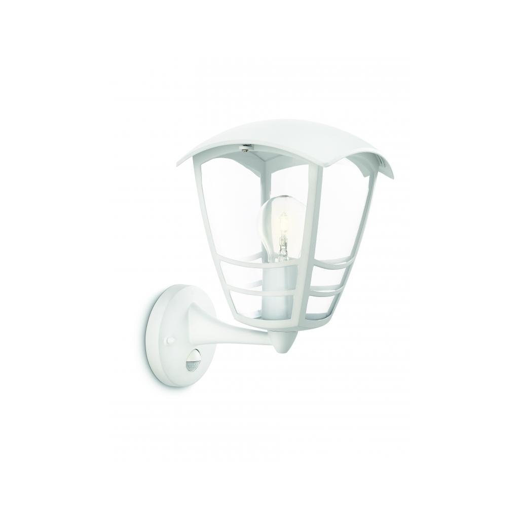 Massive-Philips // Stream wall lantern white xW V nástenné svietidlo so senzorom eulux.sk