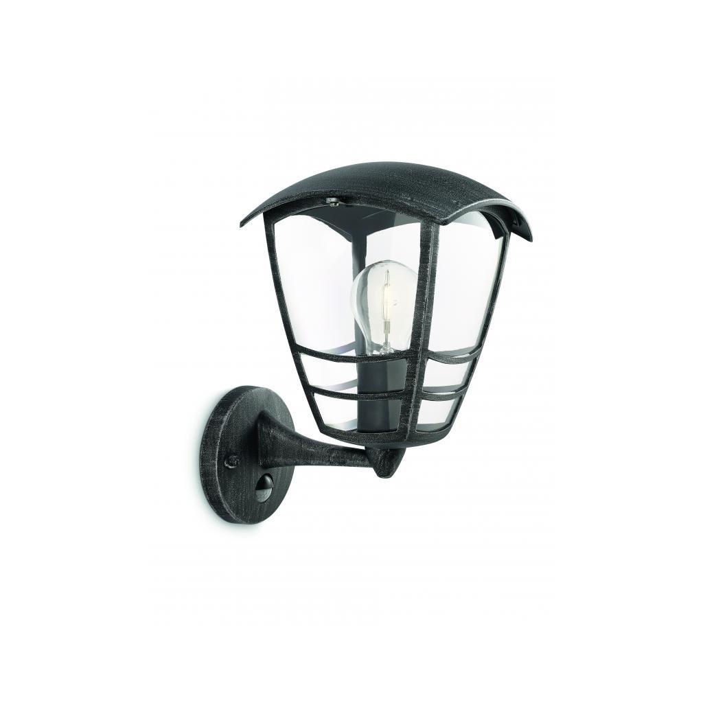 Massive-Philips // Stream wall lantern grey xW V nástenné svietidlo so senzorom eulux.sk