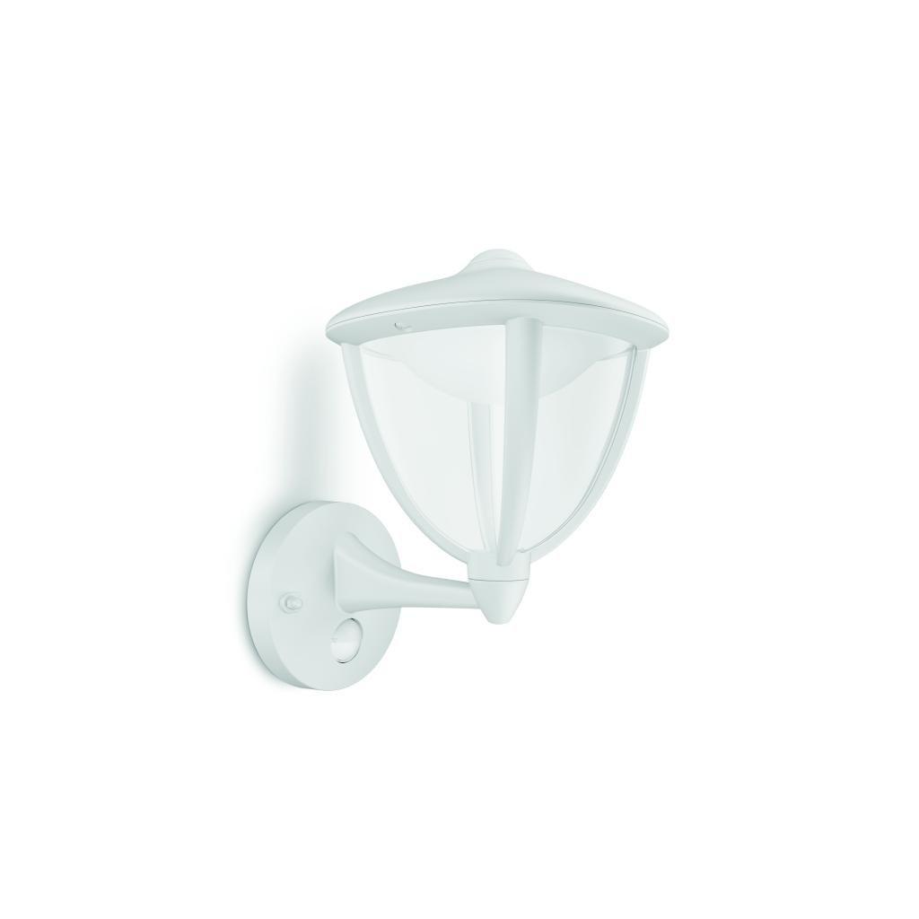 Massive-Philips Robin wall lantern white x.W V- // nástenné svietidlo so senzorom eulux.sk
