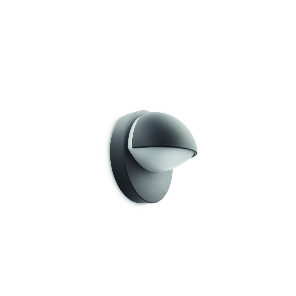 Massive-Philips // June wall lantern antracit xW nástenné svietidlo eulux.sk
