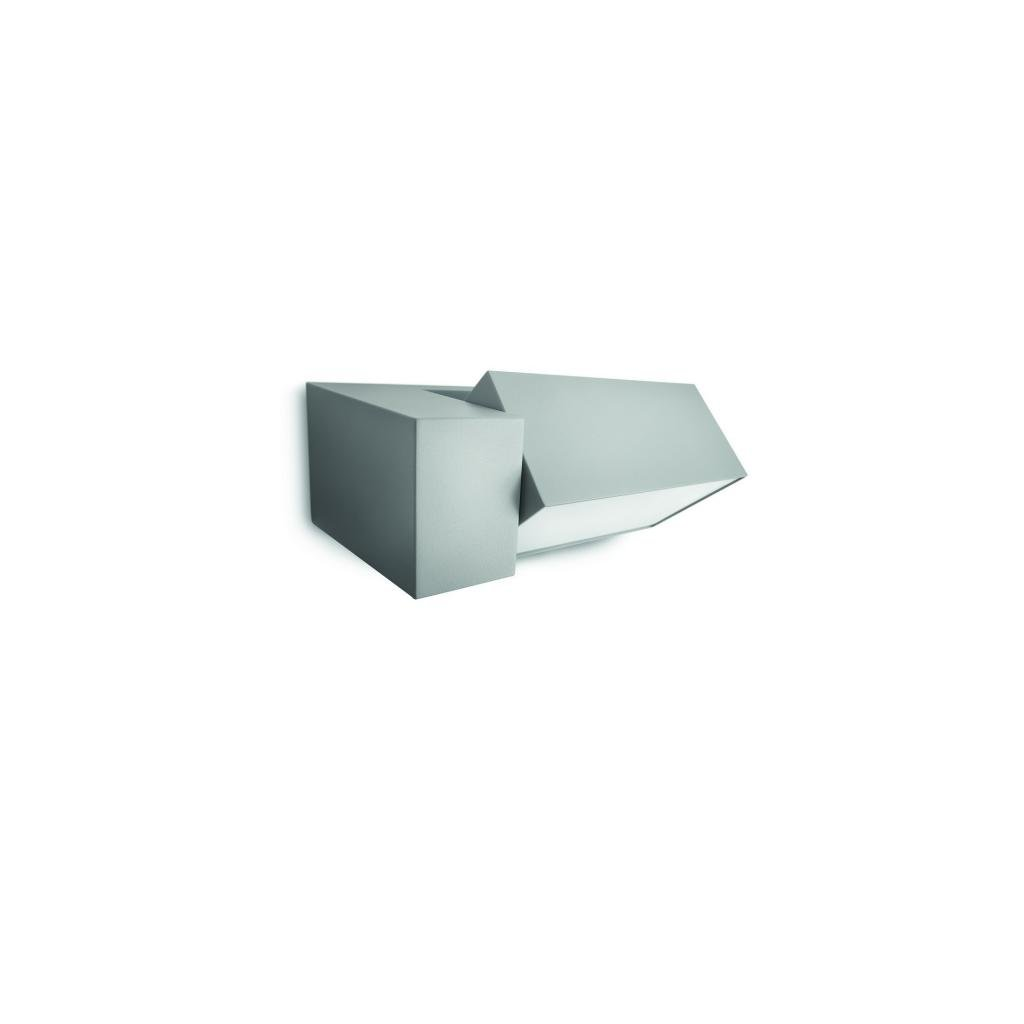Massive-Philips // Border wall lantern grey xW V nástenné svietidlo eulux.sk