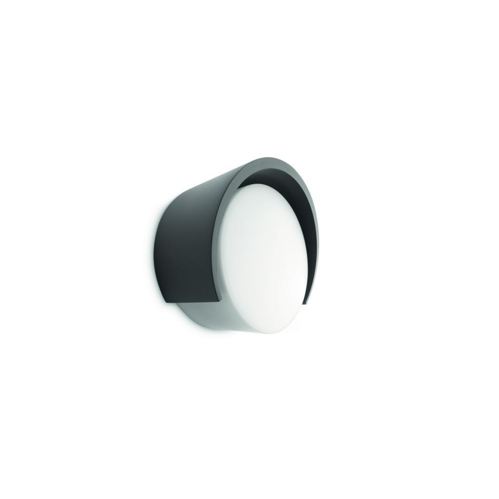 Massive-Philips // Parasola wall lantern antracit xW nástenné svietidlo eulux.sk