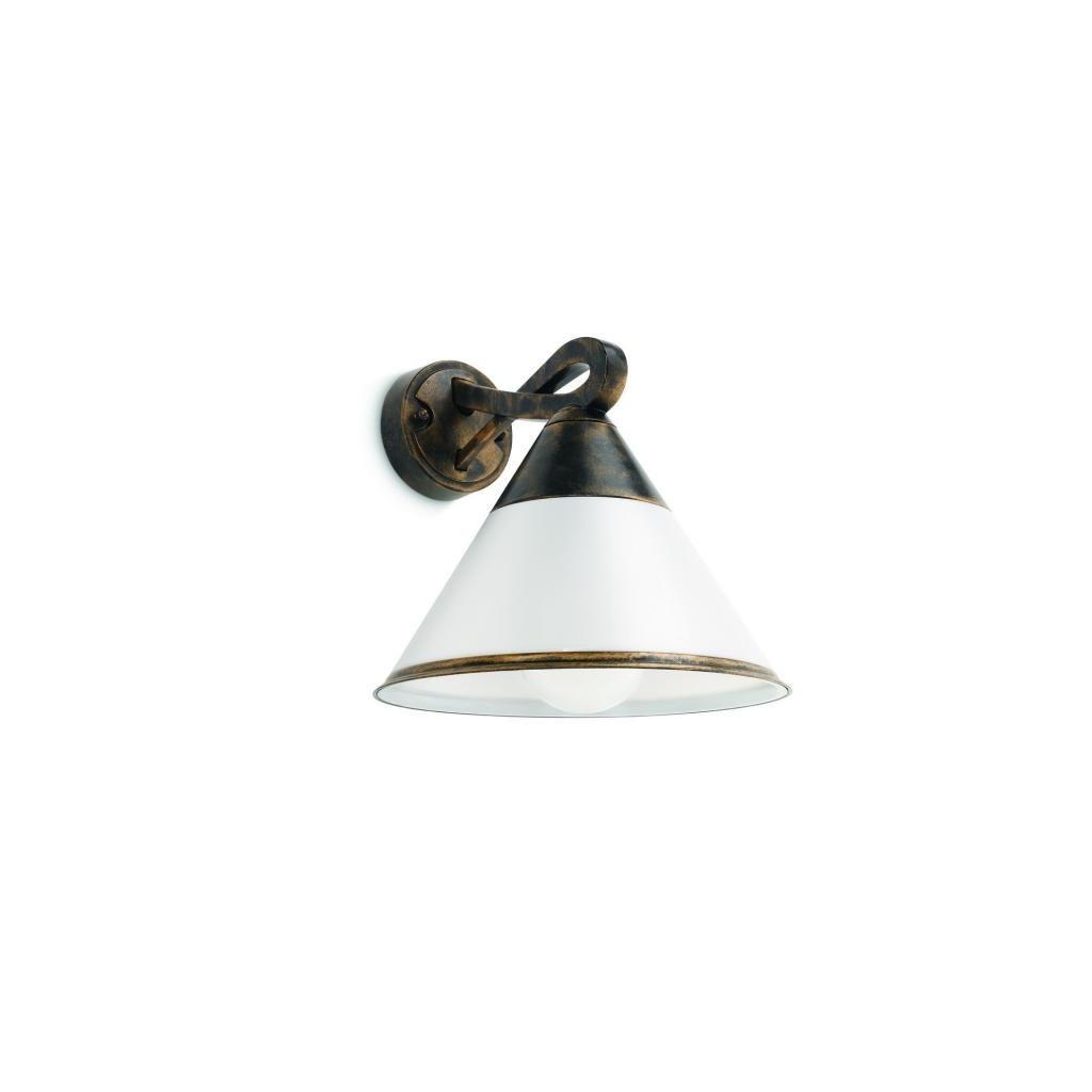 Massive-Philips // Fig wall lantern BlackBrush xW nástenné svietidlo eulux.sk