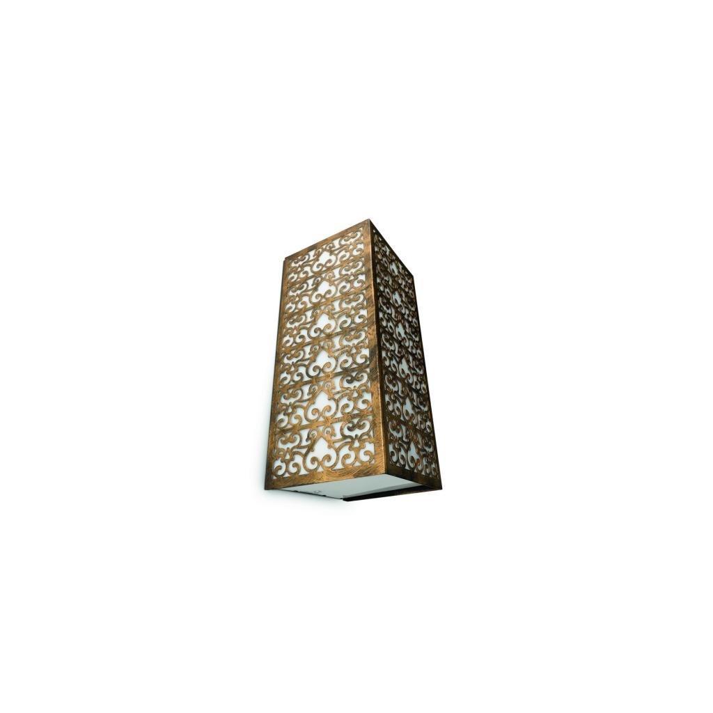 Massive-Philips // Idylle wall lantern BlackBrush xW nástenné svietidlo eulux.sk