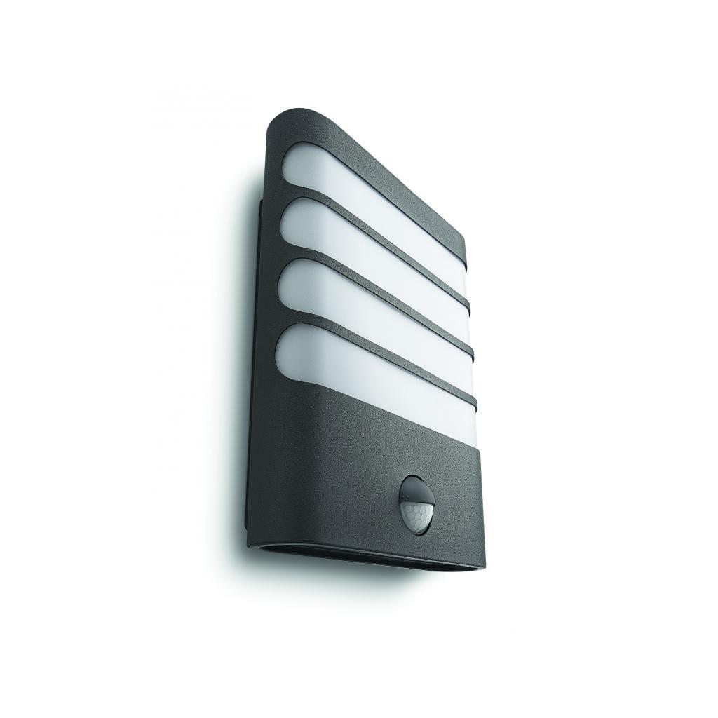 Massive-Philips Raccoon wall lantern antracit xW SELV- // nástenné svietidlo so senzorom eulux.sk