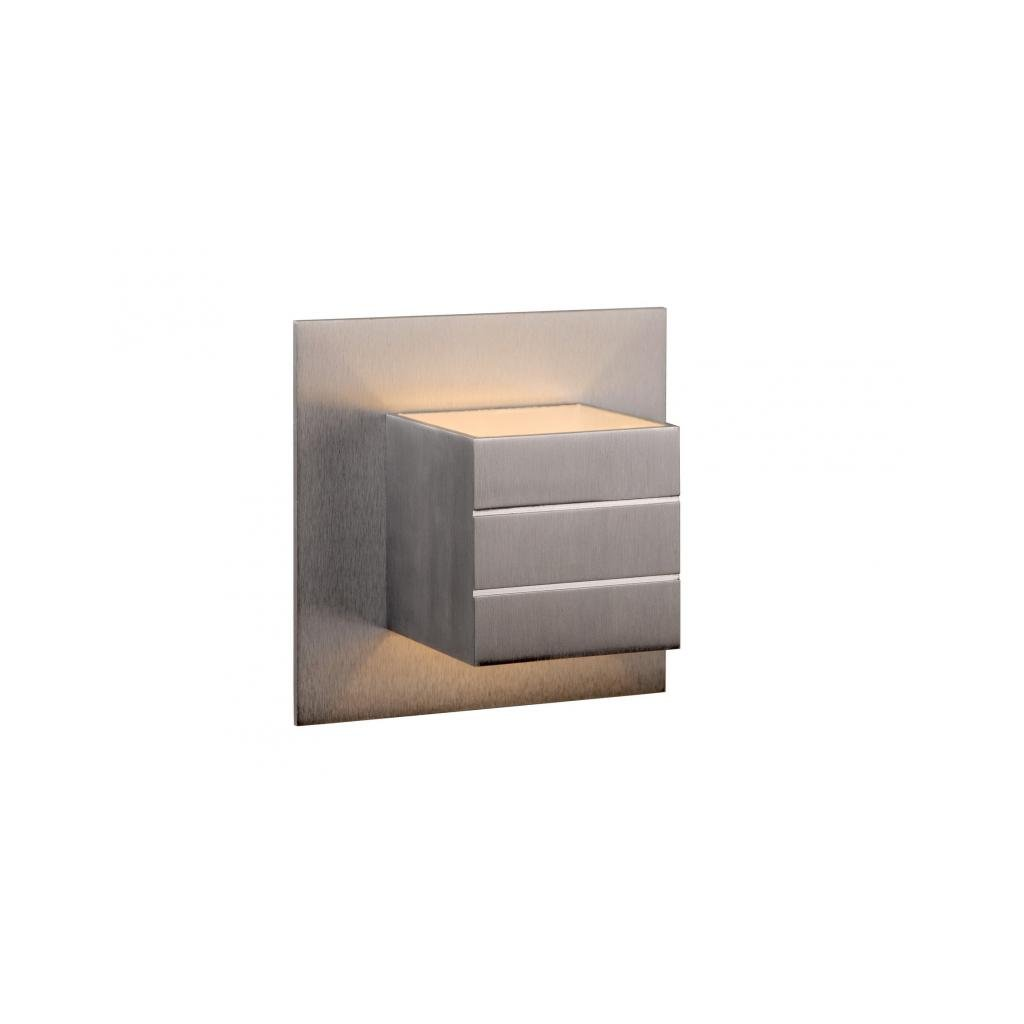Lucide // BOK Wall light xG/Wexcl. Satin chrome eulux.sk