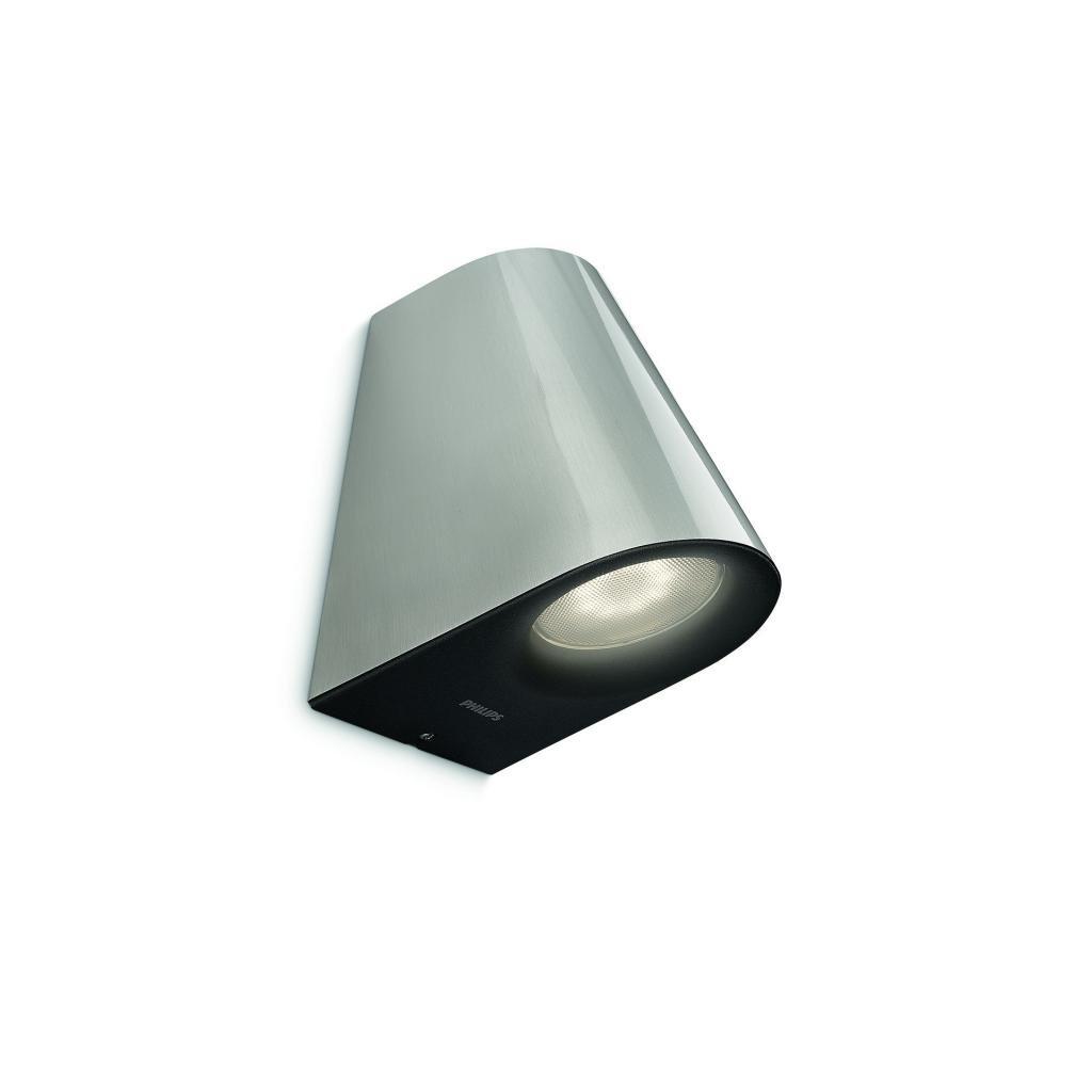 Massive-Philips // Virga wall lantern LED inox xW SE nástenné svietidlo eulux.sk