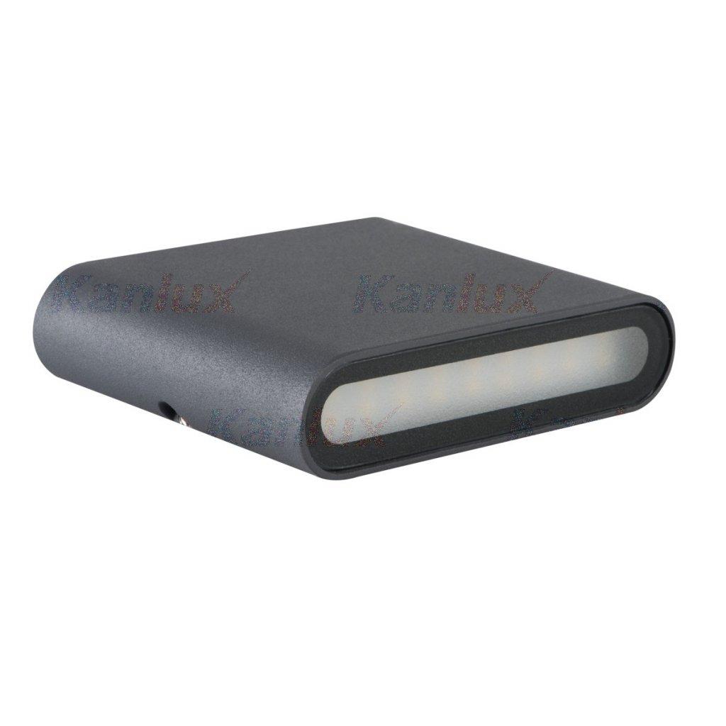 Kanlux GARTO LED EL W-GR Nástenné svietidlo LED eulux.sk
