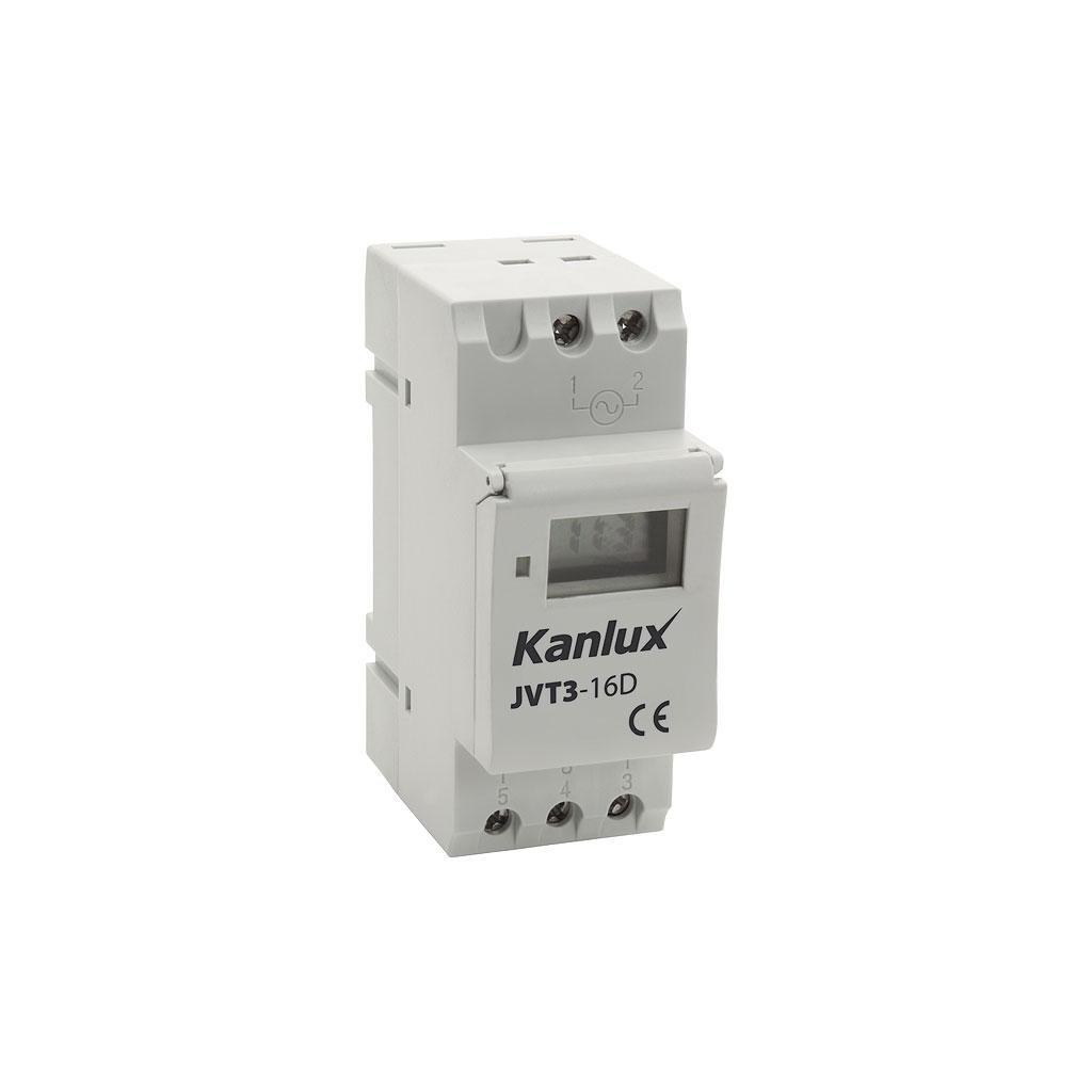 Kanlux JVT-AS Elektronický časový programátor eulux.sk