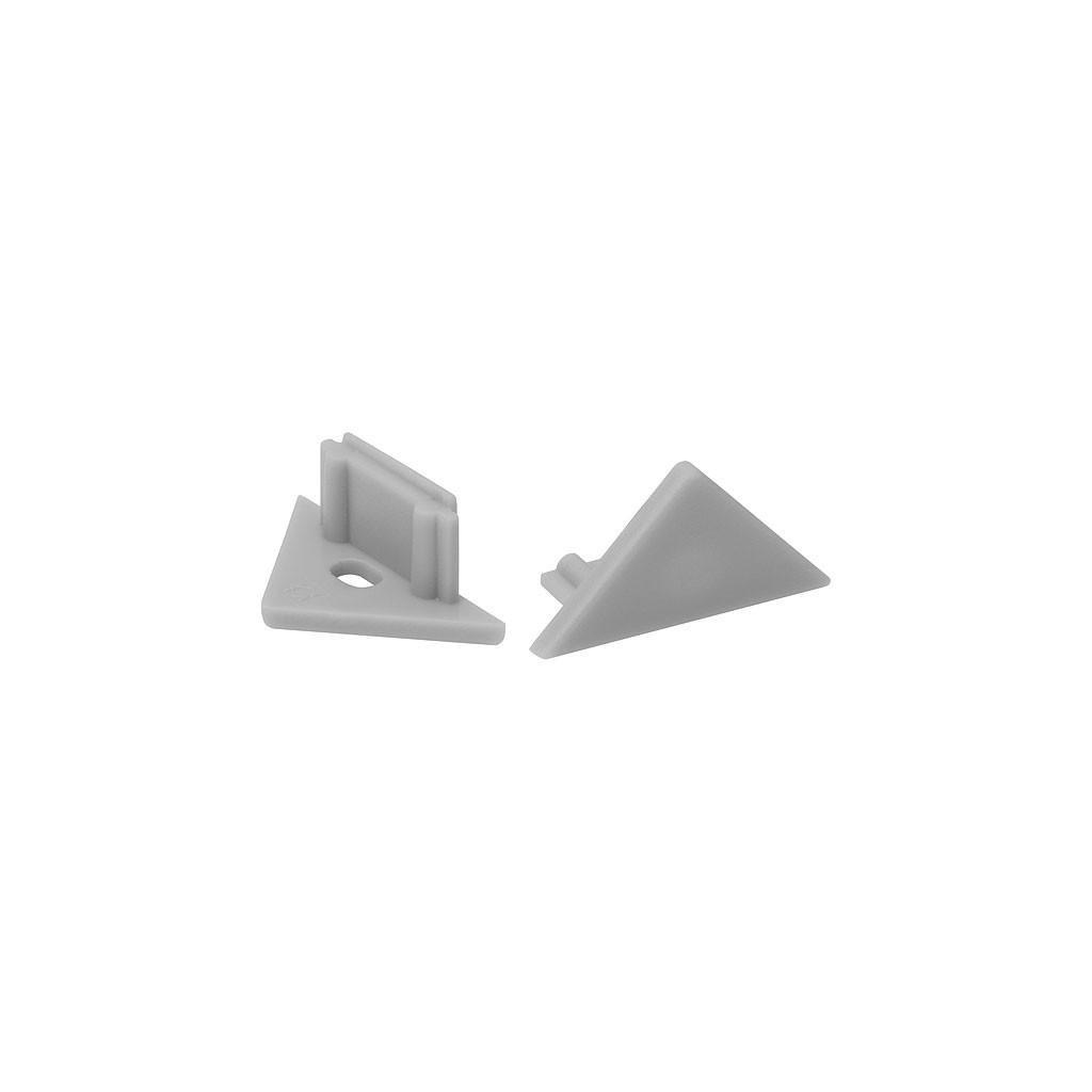 Kanlux STOPPER E profily pre lineárne LED moduly šedá eulux.sk