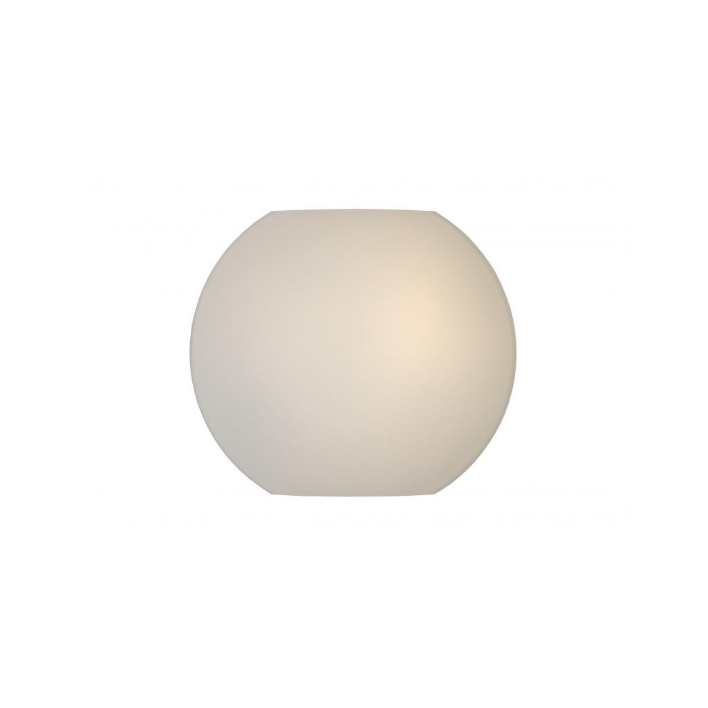 Lucide // LAGAN Wall light D. E/W Opale White eulux.sk