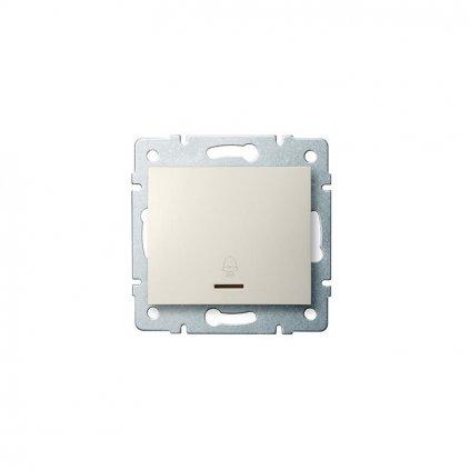 Kanlux LOGI Zvončekové tlačítko s LED AX - V~krémový eulux.sk