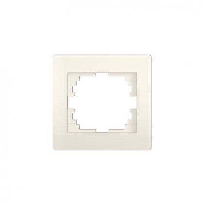Kanlux LOGI Jednoduchý horizontálny rámečekkrémový eulux.sk