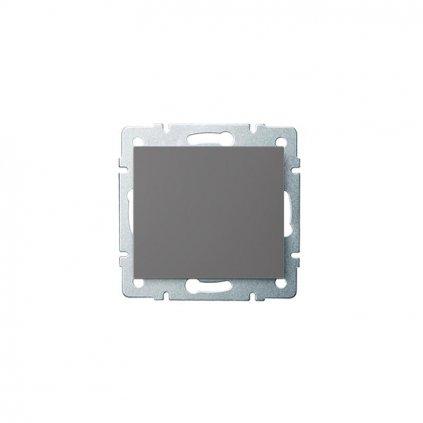 Kanlux LOGI Jednopólový vypínač AX - V~ grafit eulux.sk