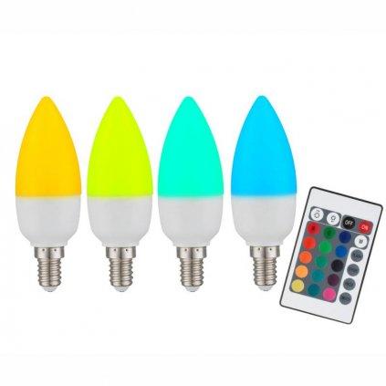 Globo E RGB candle opal eulux.sk