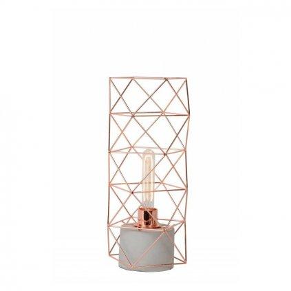 LUCIDE // RUMICO RED COPPER stolové svietidlo eulux.sk