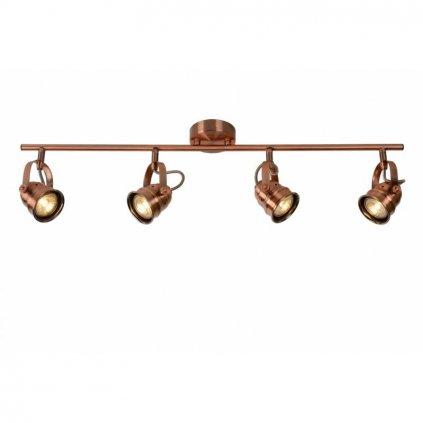 LUCIDE // CIGAL LED SPOT red copper stropné svietidlo eulux.sk