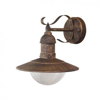 Rábalux Oslo nástenná lampa vonkajšia smerujúca nadol eulux.sk