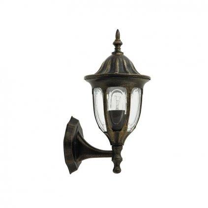 Rábalux Milano nástenná lampa vonkajšia smerujúca nahor eulux.sk