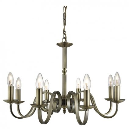 Searchlight -AB SCROLL ARMS DETAIL Luster eulux.sk