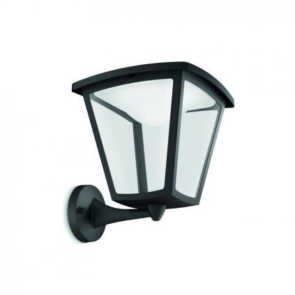 Massive-Philips Cottage wall lantern black x.W V- // nástenné svietidlo eulux.sk