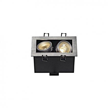 Schrack Technik KADUX GU Downlight štvorcové br. hliník max. x W eulux.sk