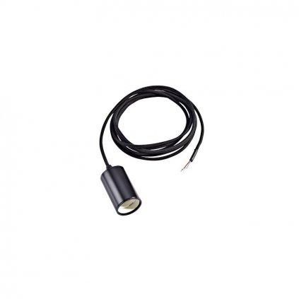 Schrac Technik LI FITU E pendulum luminaire E max. W round black eulux.sk