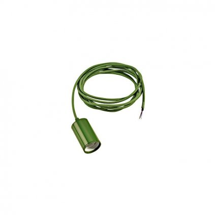 Schrac Technik LI FITU E pendulum luminaire E max.W round fern green eulux.sk